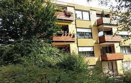 Helle und ruhige 3-Zimmer Wohnung mit 3 Balkonen am herrlichen Waldpark in Mannheim Niederfeld
