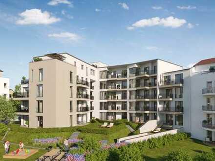 Familienfreundliche 5-Raum-Wohnung mit privatem Gartenanteil