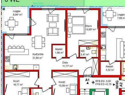Familien aufgepasst ! 4 Zimmer Erdgeschoss mit Garten zum 01.11.21 -Erstbezug-
