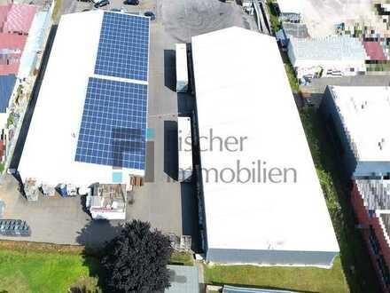 Gewerbehalle mit 1.000 m² Lager- und 2.500 m² Freifläche in Bühl mit direkter Nähe zur Autobahn A5
