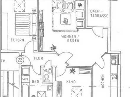 Moderne, helle Wohnung: 3 ZKB, G-WC, 2 TG-Stellpl., L.-Zentrum