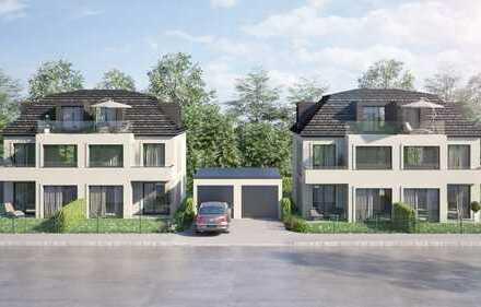 großzügige Neubau DHH in Waldtrudering