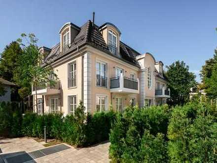 Harlaching: Elegante 3-Zimmer-Gartenwohnung mit 2 zusätzlichen Hobbyräumen