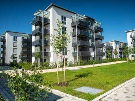 3-Zi.-Whg. im DG mit 12 m² glasüberdachtem Westbalkon - Bezug Sommer 2021
