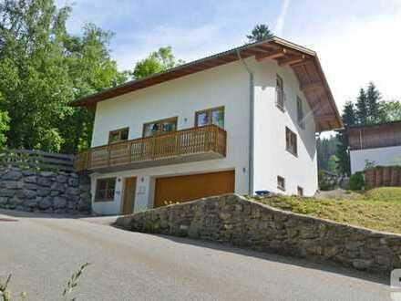 Neuwertiges Einfamilienhaus mit Seeblick in Schliersee