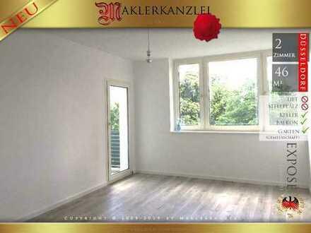 +++ NEU +++ Citywohnung im Zentrum von Holthausen; 2 Zimmer mit Balkon, renoviert, bezugsfrei