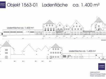 Ladenfläche / Fachmarkt im Ladenzentrum Schwarzenfeld