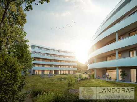 Baubeginn erfolgt: Park Ensemble am Brühlbach - Geräumige 2-Zimmer-Wohnung mit großer Terrasse