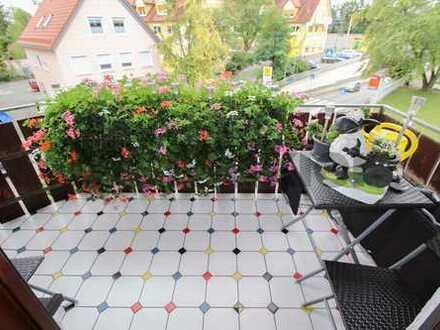 3-Zimmer-Maisonettewohnung mit Balkon und zusätzlichem, ausgebautem Speicher in zentralster Lage