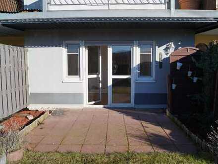 Gepflegte 1-Zimmer-Terrassenwohnung mit Balkon und Einbauküche in Lahnstein