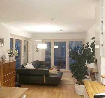 NU-Donau, 3-Zimmer-Wohnung mit 2 Balkonen