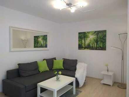 Schöne möblierte 3-Zimmer-Wohnung in Walldorf (zentral, ruhig, mit Blick ins Grüne!)
