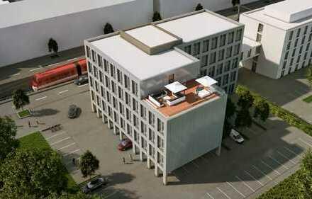 Neubau mit großer Dachterrasse | Ausbau nach Wunsch | provisionsfrei