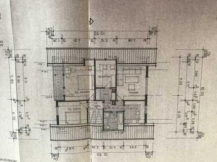 Erstbezug nach Sanierung: freundliche 3-Zimmer-Dachgeschosswohnung mit Balkon in Loßburg
