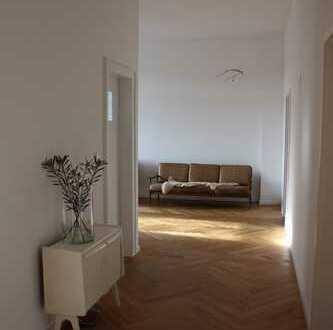 4 Zimmer Altbauwohnung in Düsseldorf kernsaniert Flingern Nord