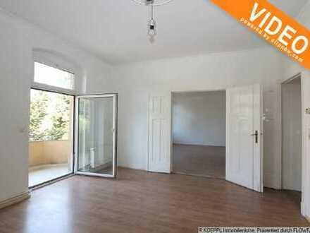 BEZUGSFREIE 120m² große Wohnung mit 2 Balkonen und Gartenmitnutzung!