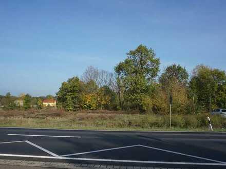Ein Baugrundstück an der Bundesstraße 1 zwischen Potsdam und Brandenburg
