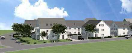 Neubau einer Doppelhaushälfte mit Hobbyraum, Garten und Tiefgarage in Bergheim - EH 55