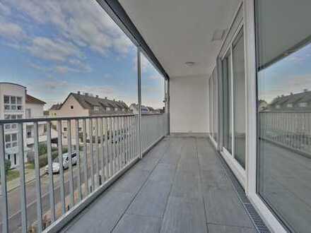 LICHT LUFT SONNE: Strahlend helle 3-Zimmer Maisonettewohnung mit großem Sonnenbalkon