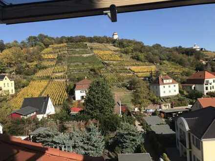 Schöne möblierte 1-Zimmer-Wohnung mit EBK in Radebeul