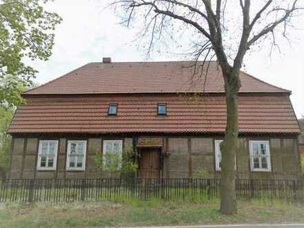 +Maklerhaus Stegemann+Bauernhaus mit Scheune und Stallung auf weitläufigem Grundstück im Havelland