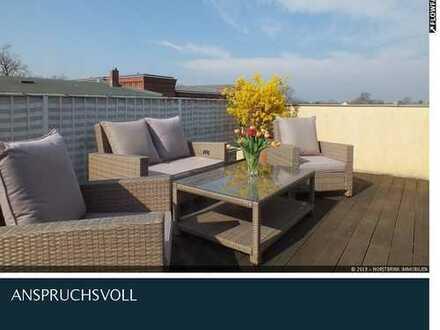 Sonnige Dachgeschosswohnung in Citylage mit 35qm Terrasse