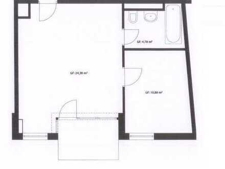 top Kapitalanlage - schöne 2-Zimmer-Wohnung mit Balkon und TG, München-Pasing