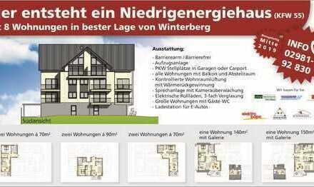 Exklusive Neubauwohnung im Zentrum von Winterberg