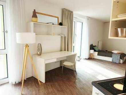 Möblierte Apartments auf dem Riedberg // Mondial Campus