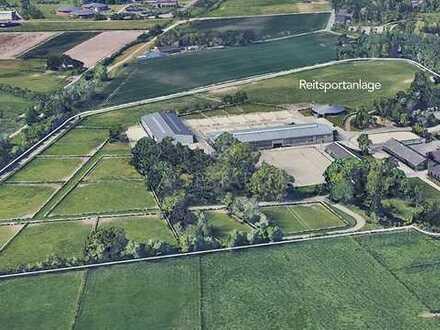 118.000 m² Reitsportanlage - 2 große Reithallen - viel Koppelfläche - das Pferdeeldorado!
