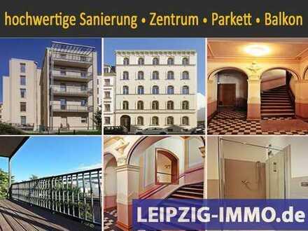 ZENTRUM WEST TOP Wohnlage***4Zimmer m. Balkon*EBK * Echtholzparkett * TLB mit Wanne und Dusche