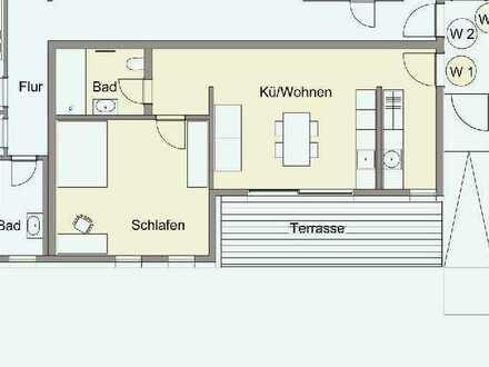 Killesberg - Erstbezug 2-Zimmer Neubauwohnung EG
