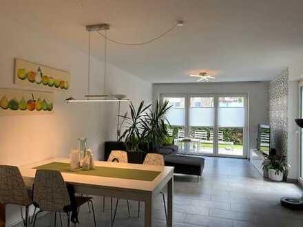 Schöne Wohnung im Erdgeschoss