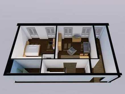 2-Raum-Wohnung zentrumsnah