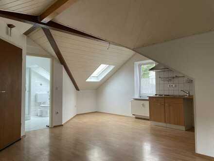 Hübsche 1-Zimmer DG-Wohnung mit Einbauküche in Murr