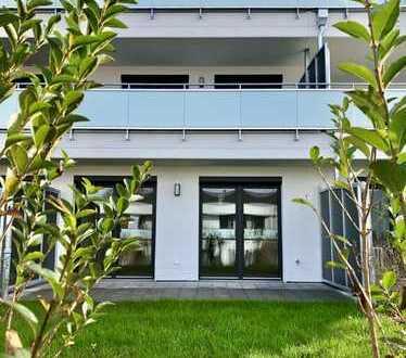 Maisonette mit Balkon, Terrasse und Garten!
