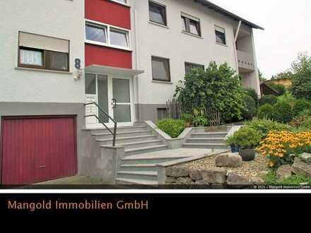 Erdgeschosswohnung mit Gartenanteil in Achstetten zu vermieten