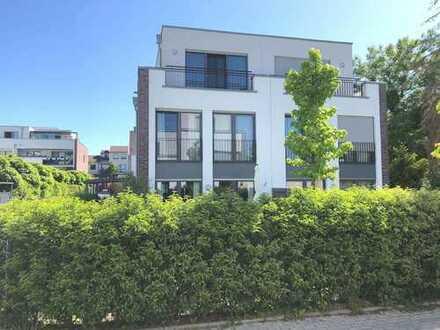 Top möbliertes/furnished NEUBAU Einfamilienhaus/Townhouse mit Garten in Büderich