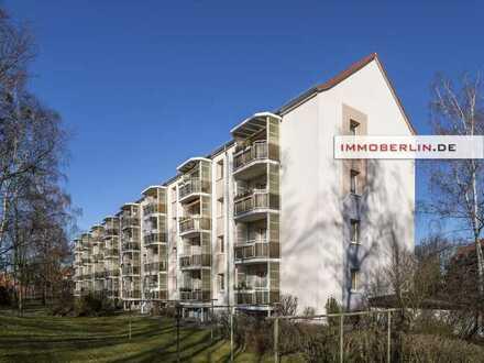 IMMOBERLIN.DE - Klare Sache! Vermietete Wohnung mit Südwestbalkon