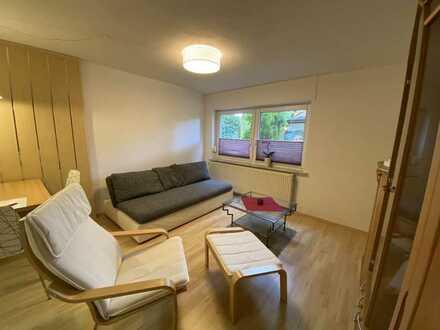 Möblierte 2 Zimmer PENDLER Wohnung mit separatem Eingang in Allmersbach