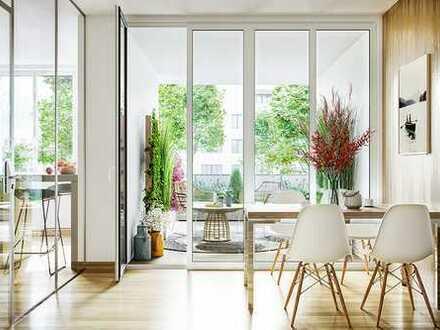 Ansehen, mieten, wunderbar wohnen: 4-Zimmer-Wohnung in den Lindenhöfen der Steimker Gärten
