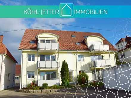 Traumhafte 1 Zi.-Whg. mit Garage und sonniger Loggia in Balingen-Weilstetten!