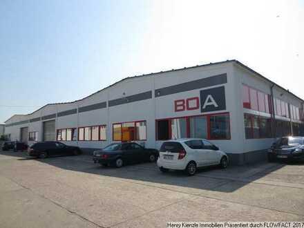 Moderne & preiswerte Produktionshalle mit Büroanteil in Sachsen