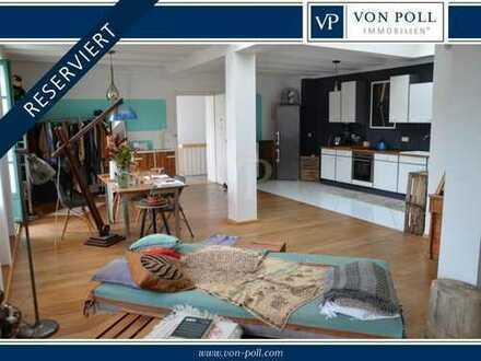 RESERVIERT: Stilvolle Penthousewohnung mit Dachterrasse und Ausbaupotential