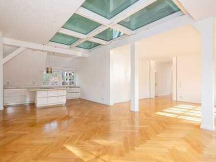 Luxuriöse Dachgeschoss-Maisonette Wohnung in Berlin-Grunewald - teilgewerbliche Nutzung möglich -