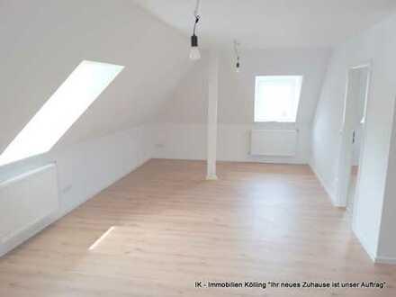 komplett sanierte und renovierte Singlewohnung inklusive hochwertiger Einbauküche in zentraler Lage