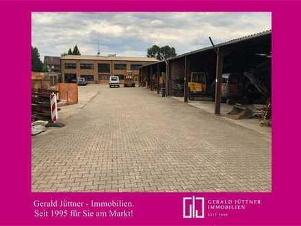Attraktives Gewerbeobjekt mit Hallen und Büroflächen in Bottrop-Grafenwald