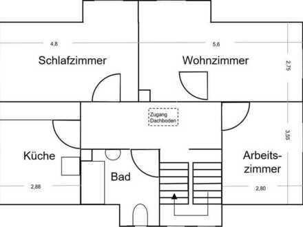 Modernisierte 3 Zimmer Wohnung im Herzen von Balingen