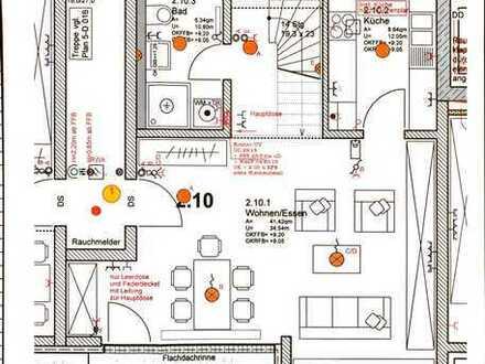 Stilvolle, neuwertige 3,5-Zimmer-Maisonette-Wohnung mit Balkon und Einbauküche in Renningen
