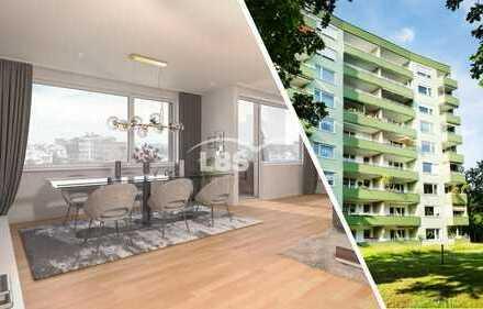 Ideale Kapitalanlage: 3-Zimmer-Wohnung mit Fernblick und viel Grün im Münchner Süden - Neuried!